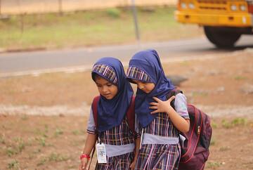 کودکان مسلمان هندی وطن پرستی کمتری نسبت به کودکان هندو ندارند