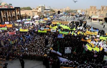 راهپیمای ۱۳ آبان فردا در ۶۰ نقطه استان یزد برگزار می شود