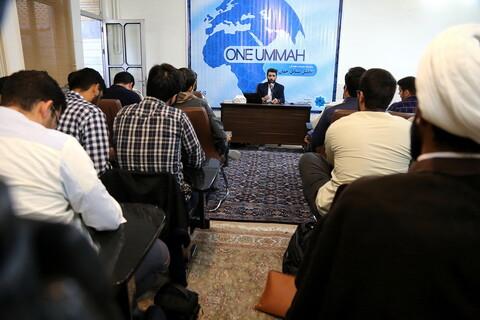 تصاویر/ نشست سیاسی بررسی تحولات جهان اسلام در اندیشکده مرصاد