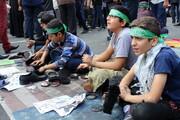 تصاویر/ راهپیمایی یوم الله ۱۳ آبان در تهران-۱