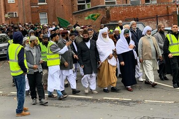 مسلمانان بریتانیایی در ناتینگهام، میلاد نبی اکرم (ص) را جشن گرفتند