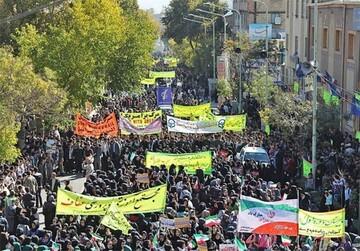 قدردانی از حضور به یادماندنی ملت انقلابی در راهپیمایی استکبار ستیزی