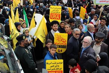 تقدیر شورای هماهنگی تبلیغات اسلامی استان قم از حضور تماشایی مردم در ۱۳ آبان