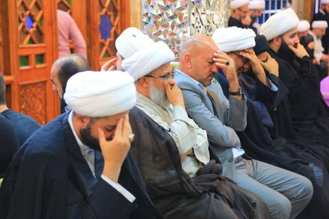 بزرگداشت علامه جعفر مرتضی عاملی در نجف