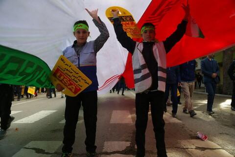 تصاویر/ راهپیمایی 13 آبان در بجنورد