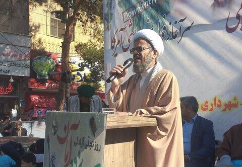 محمد حسن رستمیان در دامغان