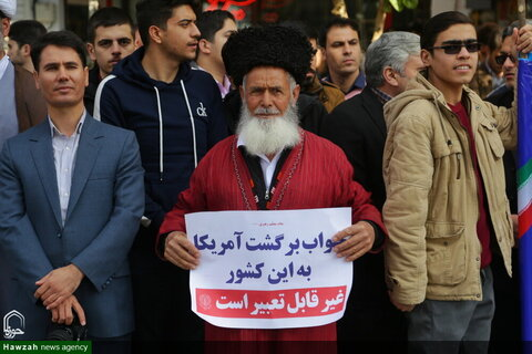 بالصور/ مسيرات اليوم الوطني لمقارعة الاستكبار في إيران