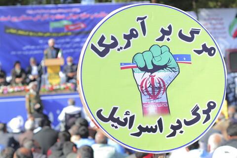 تصاویر/ راهپیمایی یوم الله 13 آبان در بیرجند