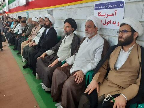تصاویر/ راهپیمایی یوم الله 13 آبان در کاشان