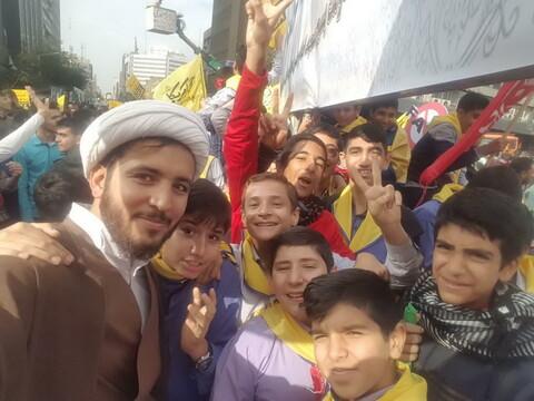 تصاویر/ راهپیمایی یوم الله ۱۳ آبان در تهران-۲