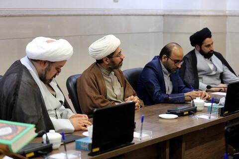 تصاویر/ دیدار سفیر یونان در ایران با مسئول مرکز ارتباطات و بین الملل حوزه