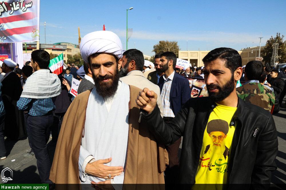 تصاویر/ راهپیمایی یوم الله ۱۳ آبان در اصفهان