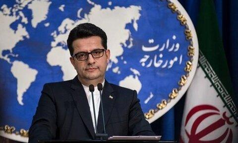 سید عباس موسوی، سخنگوی وزارت امور خارجه