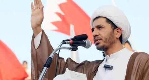 شیخ علی سلمان دبیرکل جمعیت وفاق اسلامی بحرین