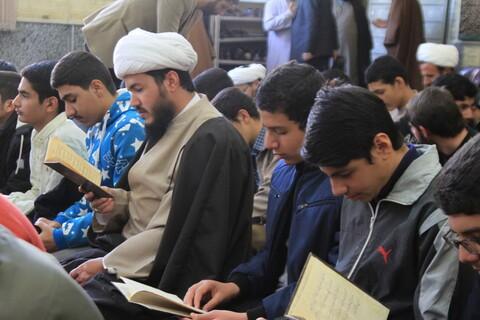 تصاویر/ مراسم بزرگداشت آیت الله گنبدی در مدرسه علمیه آخوند همدان