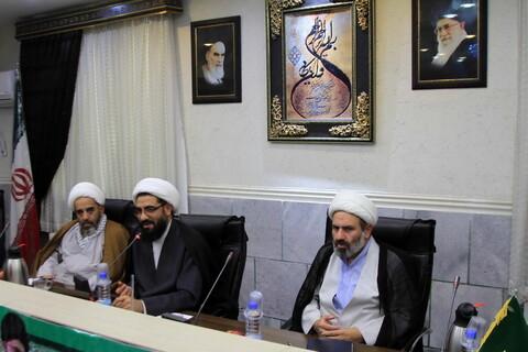 تصاویر/ نشست استادیاران حلقات صالحین همدان