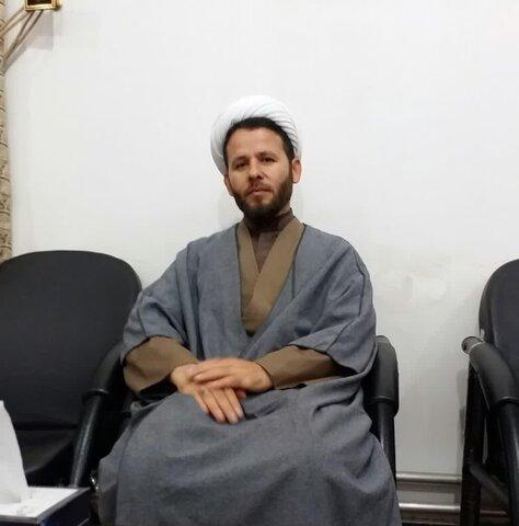 حجت الاسلام فیروزی مدیر مدرسه علمیه نقده