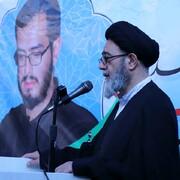 گرامیداشت یاد و خاطره شهید دهه هفتادی مدافع حرم در تبریز