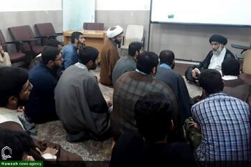 بازدید سر زده نماینده ولیفقیه در خوزستان از مدرسه ولیعصر(عج) اهواز