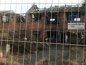 ساخت یک مسجد در بریتانیا به علت آتش سوزی عمدی ۴ سال عقب افتاد