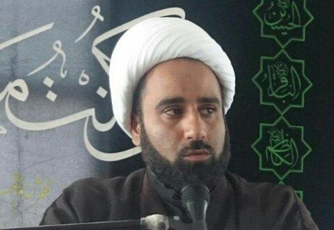 حجت السلام حسین فضیلتی نیا استاد حوزه علمیه عنبرآباد