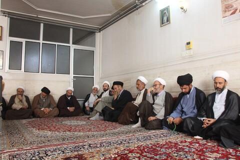تصاویر/ گردهمایی طلاب و فضلای بیجاری حوزه علمیه قم
