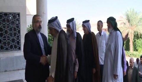 وجهاء العشائر في كربلاء يعتذرون للشعب والحكومة الايرانية