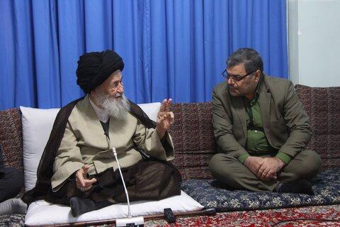 حضرت آیت الله علوی گرگانی در دیدار رئیس جهاد دانشگاهی