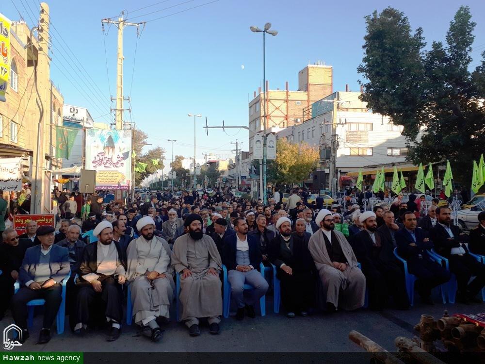 تصاویر/ اجتماع مردمی بیعت با حضرت ولیعصر (عج) در شهرستان قروه