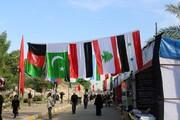 برپایی خیابان فرهنگی بینالمللی مجمع الاحرار در کربلا