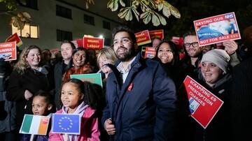 جوان مسلمان ایرانی، نخست وزیر بریتانیا را در انتخابات به چالش می کشد