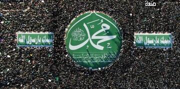 حضور گسترده مردم یمن در مراسم میلاد حضرت رسول اکرم (ص) + تصاویر