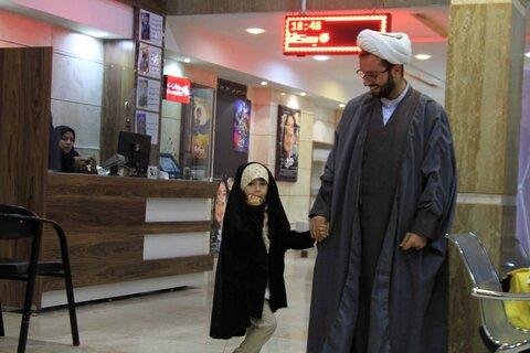 حضور طلاب همدانی در اکران فیلم منطقه پرواز ممنوع