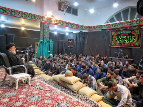 تصاویر/ بزرگداشت شهید محمدحسین محمدخانی در یزد