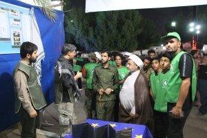 خیابان فرهنگی بین المللی مجمع الاحرار در کربلا