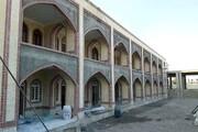 وضعیت پروژه ساخت مدرسه امام صادق(ع) مهریز  بررسی شد
