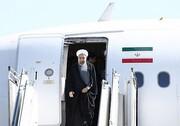 روحانی وارد یزد شد/ سخنرانی در جمع مردم تا دقایقی دیگر