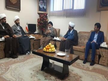 دیدار رئیس سازمان تبلیغات اسلامی با نماینده ولی فقیه در کردستان