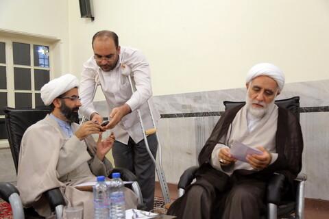 تصاویر/ برگزاری کمیسیونهای اجلاسیه اساتید سطوح عالی حوزههای علمیه در مدرسه دارالشفاء-2