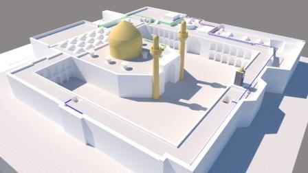 إنجاز مجموعة من التصاميم الجديدة لمشاريع العتبة العلوية المقدسة