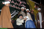 جشن تلبس طلاب مدارس علمیه علی بن ابیطالب(ع) و جوادالائمه(ع) + عکس