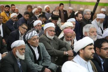 تصاویر/ مراسم جشن آغاز هفته وحدت در بجنورد