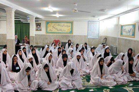 حضور امام جمعه همدان در مدارس همدان