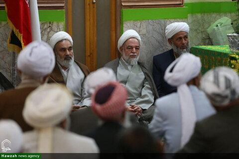 بالصور/ احتفال بمناسبة أسبوع الوحدة الإسلامية في مدينة بجنورد الإيرانية