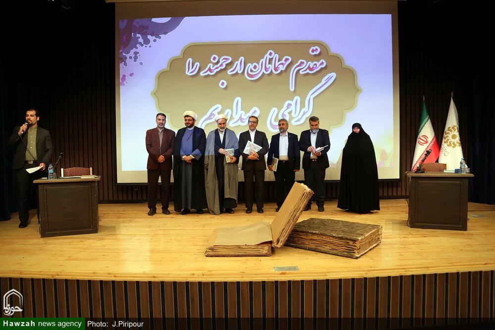 تصاویر/ نشست ویژه کتابخوان فرهیختگان در کتابخانه امام خامنه ای قم