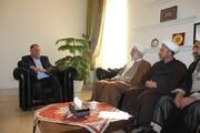 راه های تقویت همکاری های شهرداری و حوزه قزوین بررسی شد