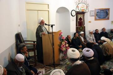 تصاویر/ جشن وحدت در مسجد ابوحنیفه بجنورد
