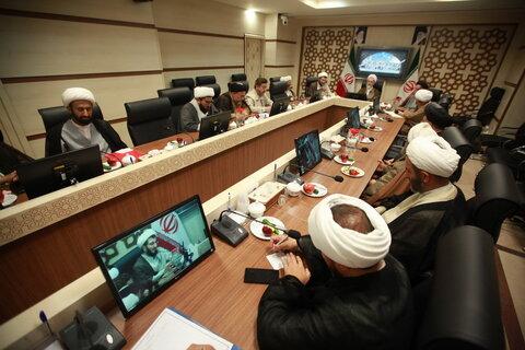 تصاویر/ نشست مدیران مدارس علمیه استان قم با آیت الله اعرافی