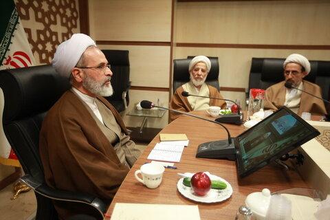 نشست مدیران مدارس علمیه قم با آیت الله اعرافی