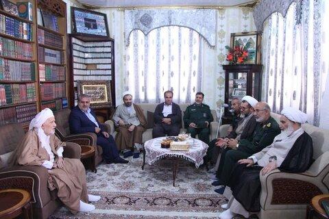 دیدار نماینده ولی فقیه در کرمانشاه از ملا عبدالله غفوری در هفته وحدت